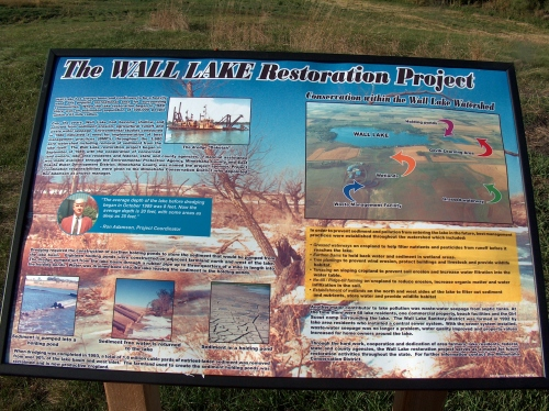Wall Lake Restoration Project